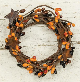 Pip Berry Ring With Stars - 2 In - Primitive Mix