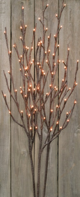 Willow Twigs Lighted Branch - 39 Inch