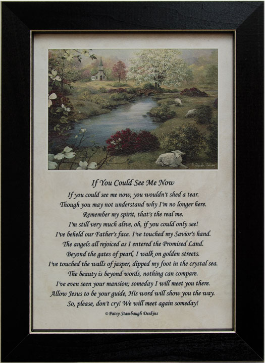 See Me Now Framed Print