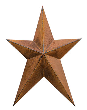 Whimsy Rusty Star - 12 Inch