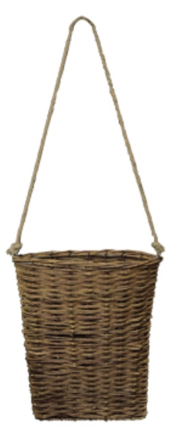 Willow Basket With Rope