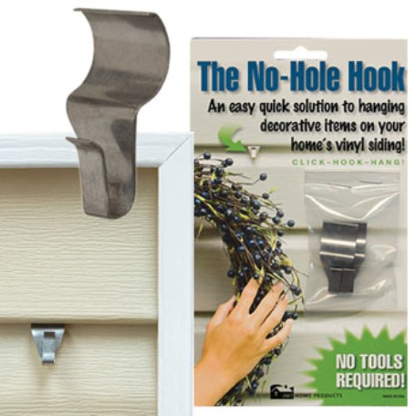 No Hole Hooks Low Profile 1.5 Inch