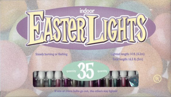 Pearlized Easter Lights
