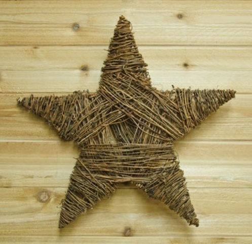 Woven Twig Star-Woven Twig Star