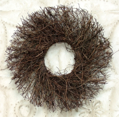 Angel Vine Twig Wreath - 11 Inch-Angel Vine Twig Wreath - 11 Inch