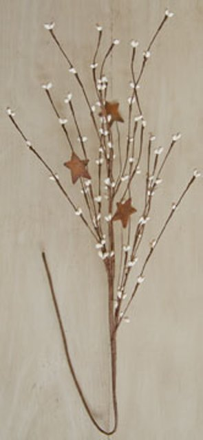 Pip Pick With Stars - Ivory - 24 In