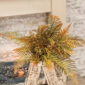 "Fall Deer Fern Bush, 16""-Fall Deer Fern Bush, 16"