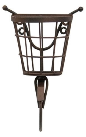 Bicycle Wall Hanging with Basket-Bicycle Wall Hanging with Basket