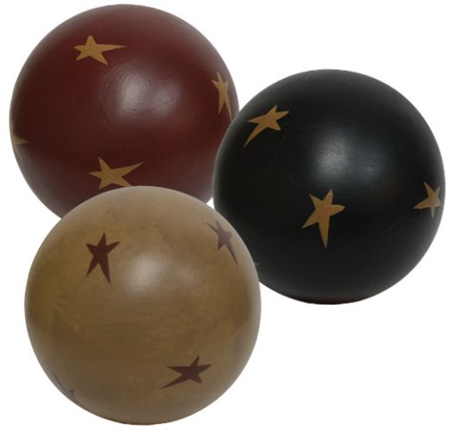 Stars Decorative Ball - 4 In - Assorted-Stars Decorative Ball - 4 In - Assorted