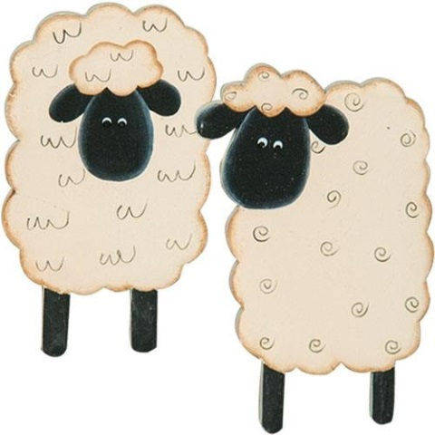 4/Set, Sheep Magnets-4Set, Sheep Magnets