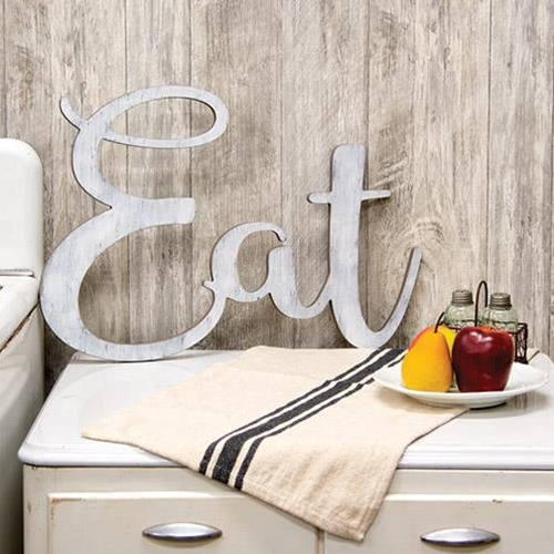 """Eat"" Wooden Cutout Wall Hanging-Eat Wooden Cutout Wall Hanging"