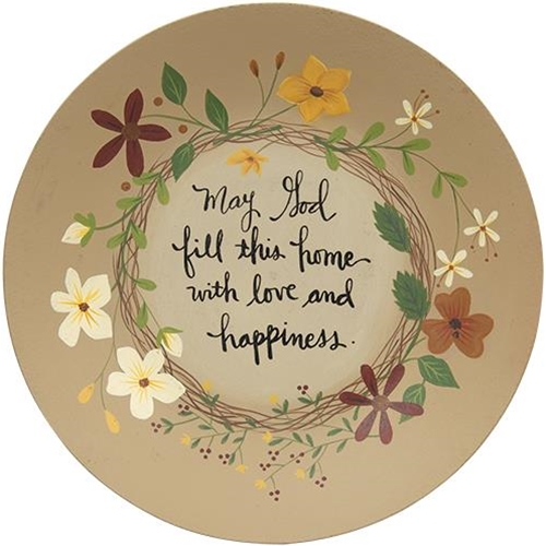 Fill This Home With Love and Happiness Plate-Fill This Home With Love and Happiness Plate