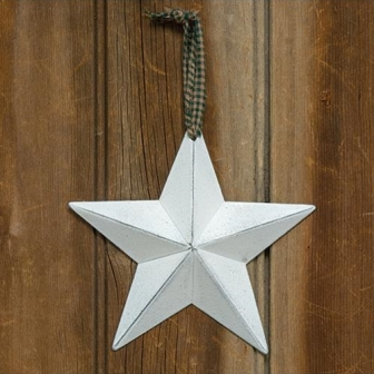 "Farmhouse White Barn Star, 5""-Farmhouse White Barn Star, 5"