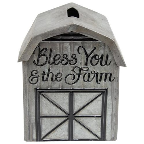 Bless You and The Farm Tissue Box-Bless You and The Farm Tissue Box