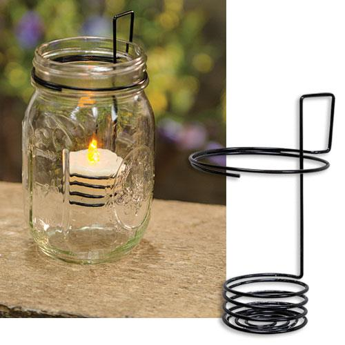 Mason Jar LED Tealight Holder-Mason Jar LED Tealight Holder