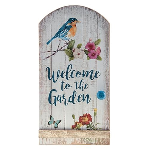 Welcome to the Garden Sign-Welcome to the Garden Sign