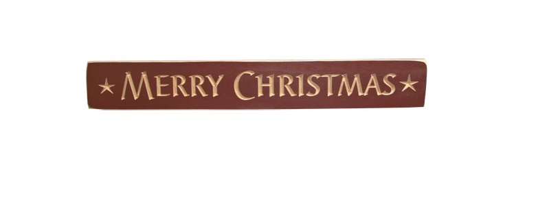 Merry Christmas Engraved Sign-Merry Christmas Engraved Sign