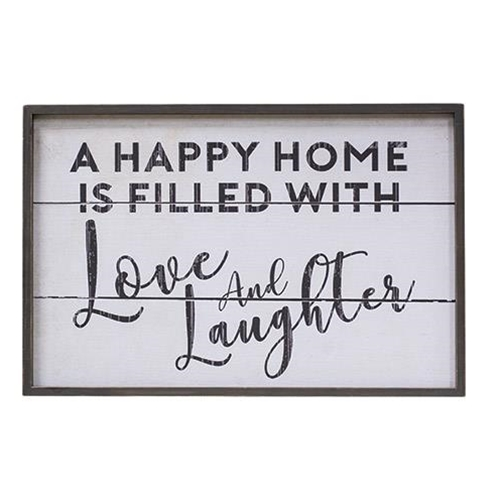 Love and Laughter Wall Art-Love and Laughter Wall Art