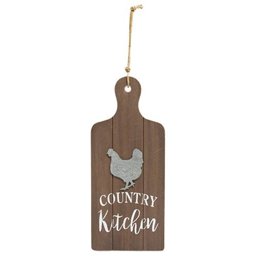 Country Kitchen Cutting Board Wall Hanger-Country Kitchen Cutting Board Wall Hanger