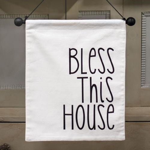 Bless This House Fabric Wall Hanging-Bless This House Fabric Wall Hanging