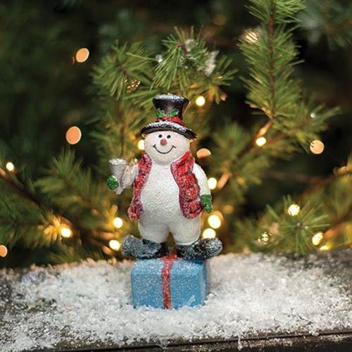 Willie Snowman With Bell-Willie Snowman With Bell