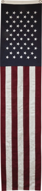 Natural Flag Slim Banner-Long Slim Flag Banner