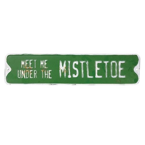 Under the Mistletoe Street Sign-Under the Mistletoe Street Sign