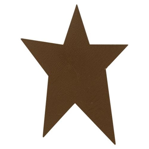 "Rust Look Tin Primitive Star, 4""-Rust Look Tin Primitive Star, 4"