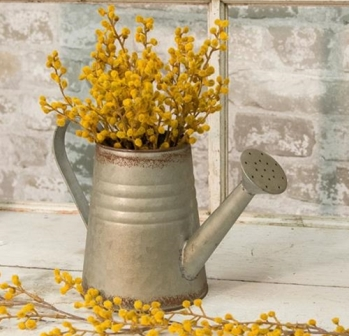 Vintage Galvanized Watering Can-Vintage Galvanized Watering Can