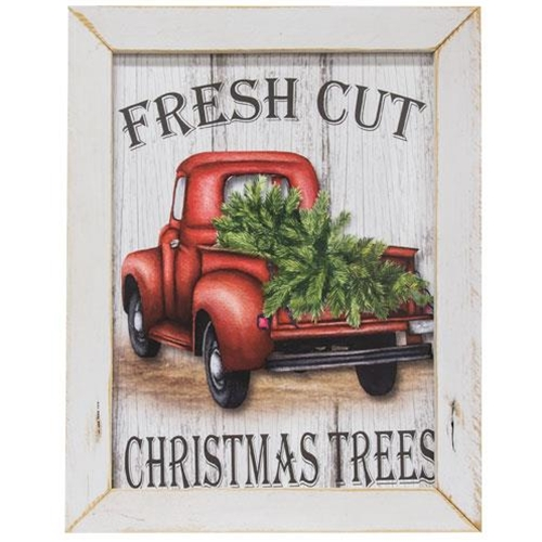 Fresh Cut Christmas Trees Framed Print-Fresh Cut Christmas Trees Framed Print