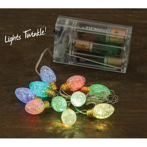 Battery Operated Twinkle Multi Lights-Battery Operated Twinkle Multi Lights