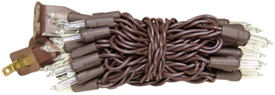 Light Set, Brown Cord, 20ct-Light Set, Brown Cord, 20ct